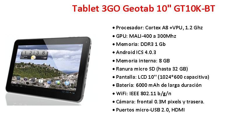 3GO Geotab GT10K-BT