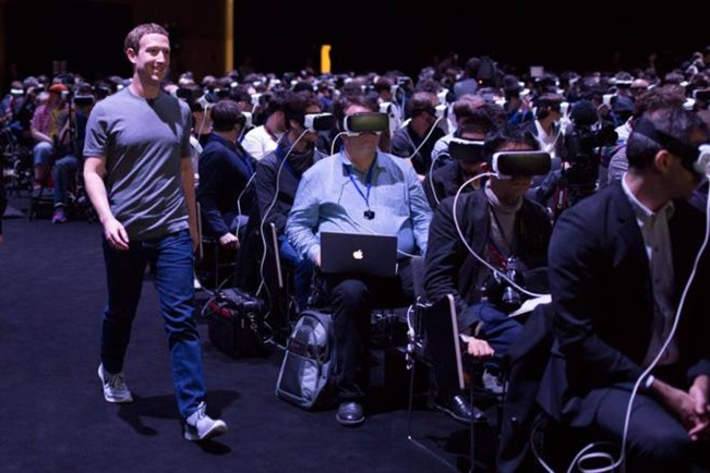 Foto de Mark Zuckerberg MWC