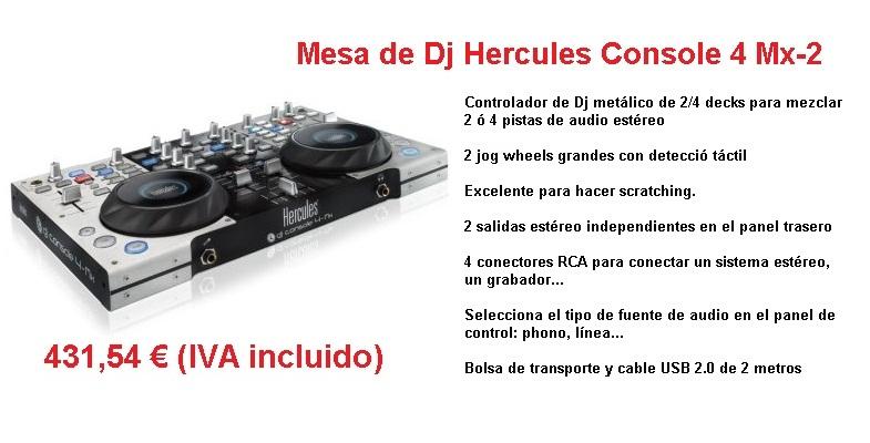 Hercules DJ Console 4 Mx-2