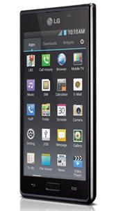 LG Optimus L7 lateral