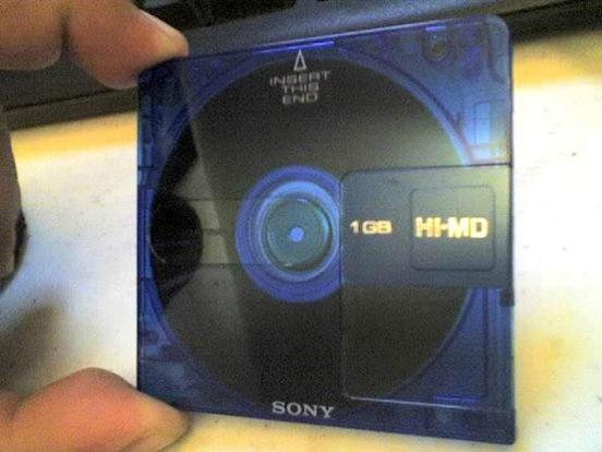 MiniDisc-Sony