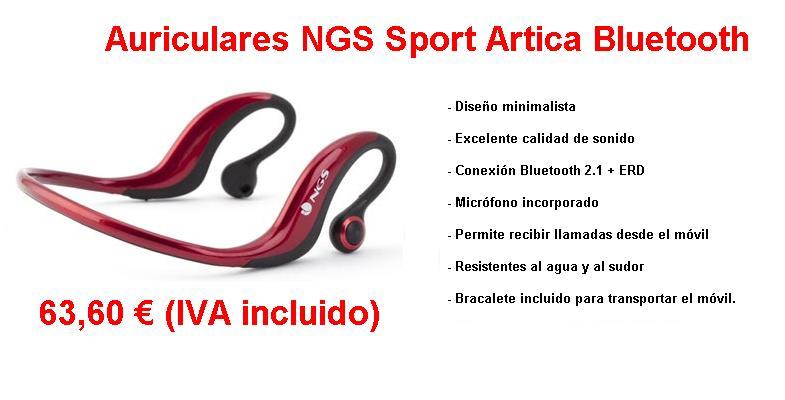 NGS Auricular Sport Artica Bluetooth