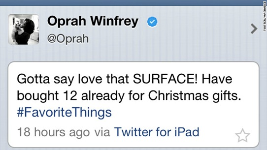 Oprah-surface