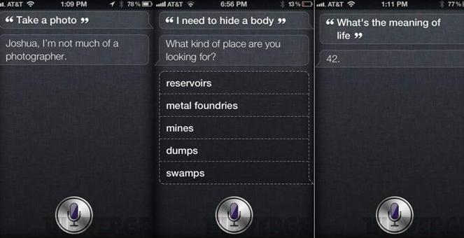 Siri-respuestas