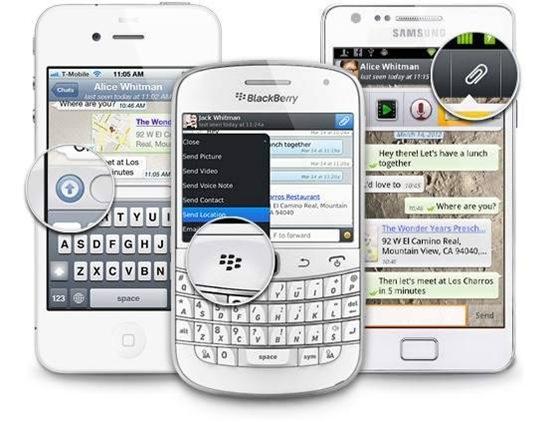 Whatsapp-smartphones