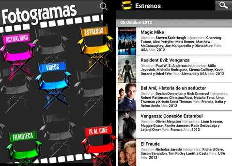 fotogramas-android
