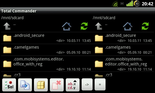 tcmd android